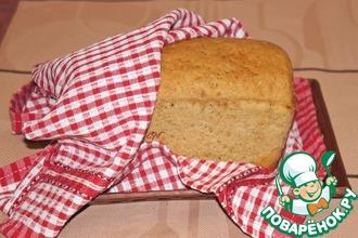 Рецепт: Ржано-пшеничный хлеб с тмином