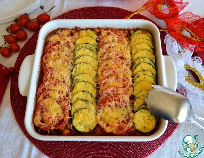 Рецепт: Средиземноморский овощной тиан