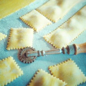 The dough for lasagna, ravioli, tagliatelle