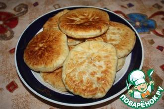 Рецепт: Пирожки с кунжутом