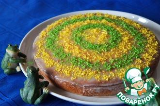 Рецепт: Греческий пирог Ревани с кокосом