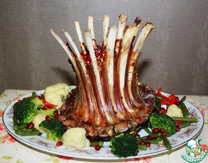 Царская корона из баранины рецепт с фото они