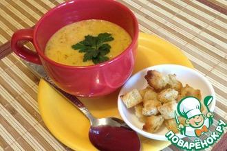 Рецепт: Морковный суп Зайкина радость