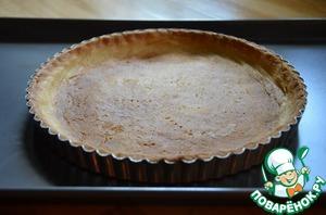 Испеките основу пирога из песочного теста   Рецепт здесь http://www.povarenok .ru/recipes/show/103  828/