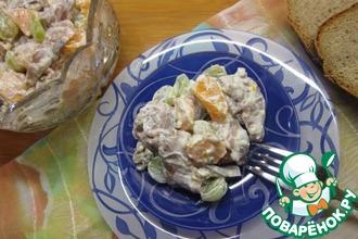 Рецепт: Селедочный салат