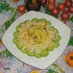 Постный салат Весна