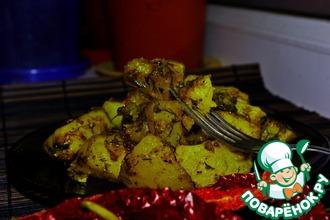 Рецепт: Не скучный картофель Огонек