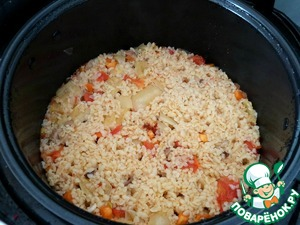 And here is the finished bulgur!