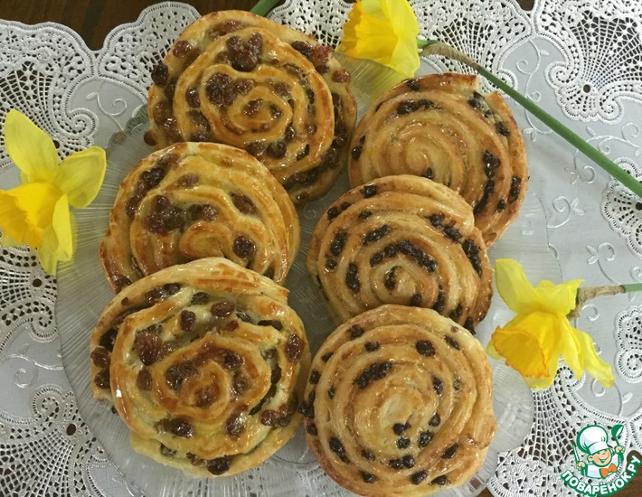 Рецепт: Французские булочки Быстрые