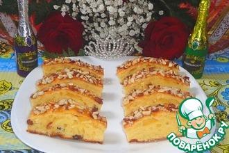 Рецепт: Пирог Королевское лакомство