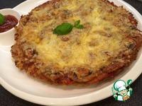 Мясная пицца без теста ингредиенты