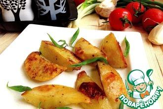 Рецепт: Картофель запеченный Ароматный