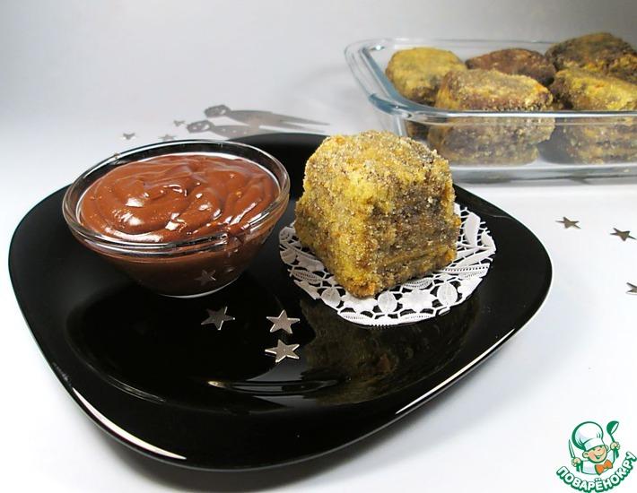 Рецепт: Десерт Шоколадный жареный крем