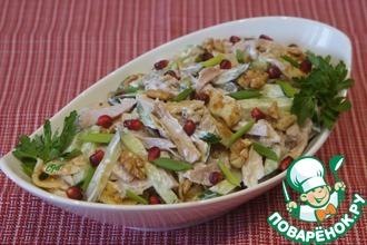 Рецепт: Блинный салат