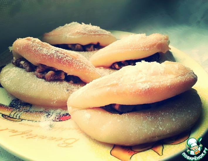 Рецепт: Десерт Дамские губы
