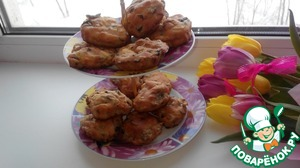 Muffins are delicious hot or cold. Very hearty and flavorful!  Love and surprise your sweetheart!