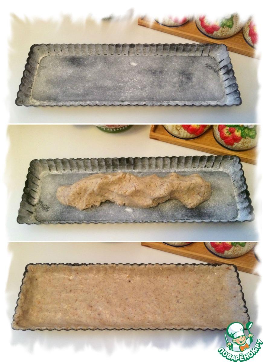 Тарт с малиновым курдом