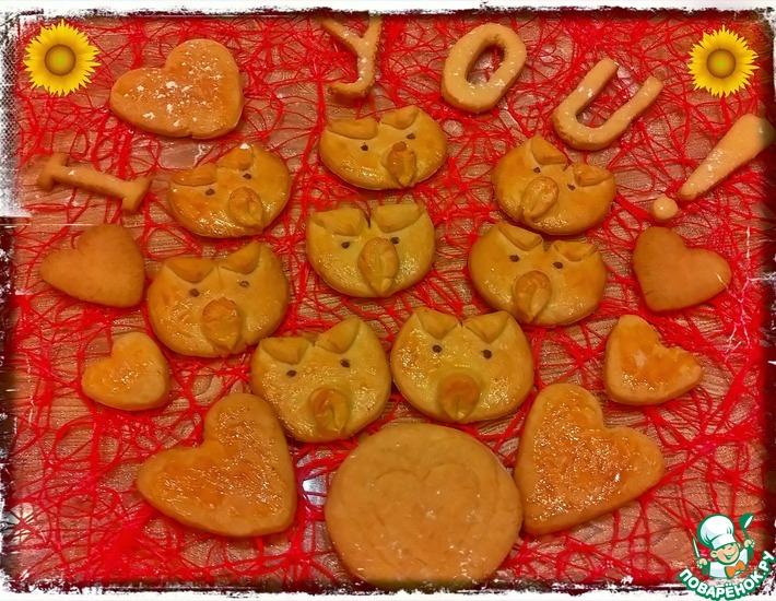 Рецепт: Печенье Хрюшки