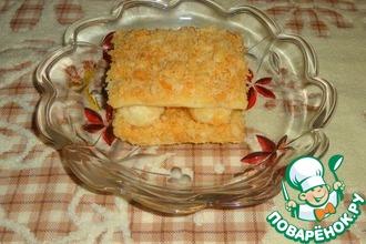 Рецепт: Пирожное Каприз