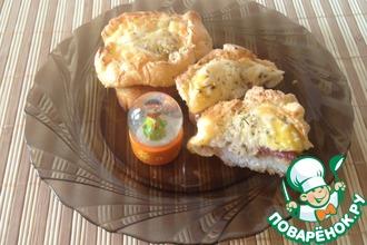 Рецепт: Яичные гнезда Курочка Ряба