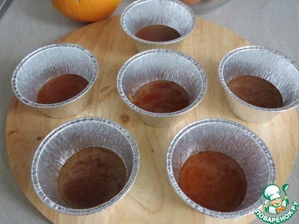 Карамельно-апельсиновый флан