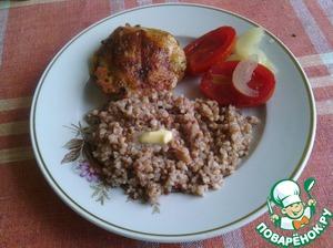 Рецепт Куриные бедрышки-гриль в духовке