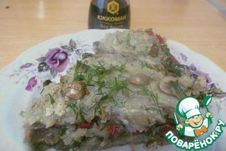 Рецепт: Картофельная запеканка с овощами