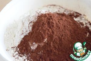 Шоколадный пирог с цукатами – кулинарный рецепт