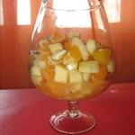 Фруктово-ореховый салат