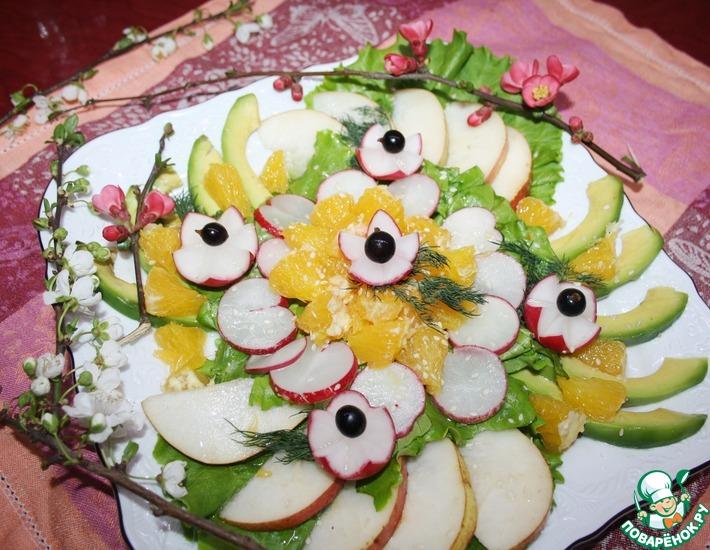 Рецепт: Салат Прелюдия весны