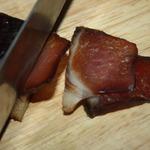 Сыровяленый окорок в соевом маринаде