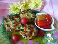Рыбные кексы со стручковой фасолью ингредиенты