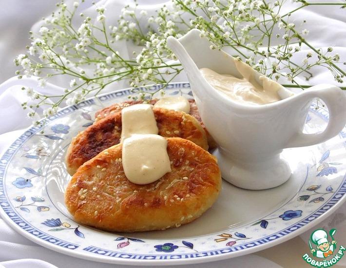 Рецепт: Пирожки картофельные с тунцом