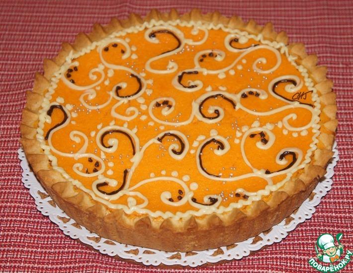 Рецепт: Пирог с тыквой и сгущенкой Сударыня