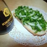 Бутерброд с петрушкой