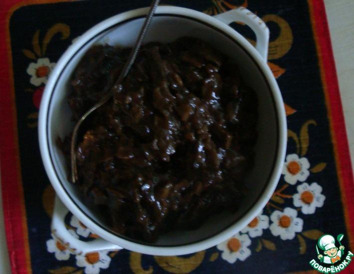 Рецепт: Соус из сухих грибов