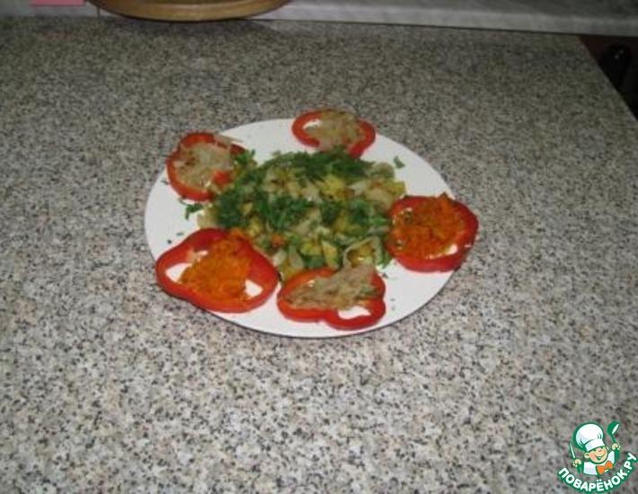 Рецепт: Кальмары с жареной картошкой