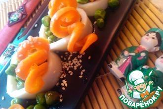 Рецепт: Теплый салат в азиатском стиле