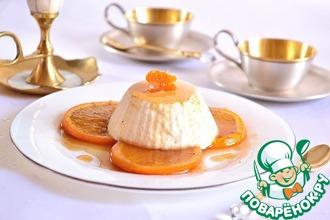 Рецепт: Суфле из йогурта с пряными апельсинами