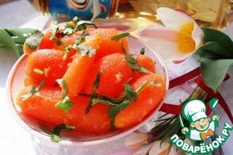 Рецепт: Пряная морковь бейби