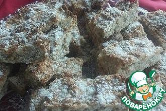 Рецепт: Ореховые батончики