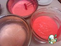 Пирожное Розовый шелк ингредиенты
