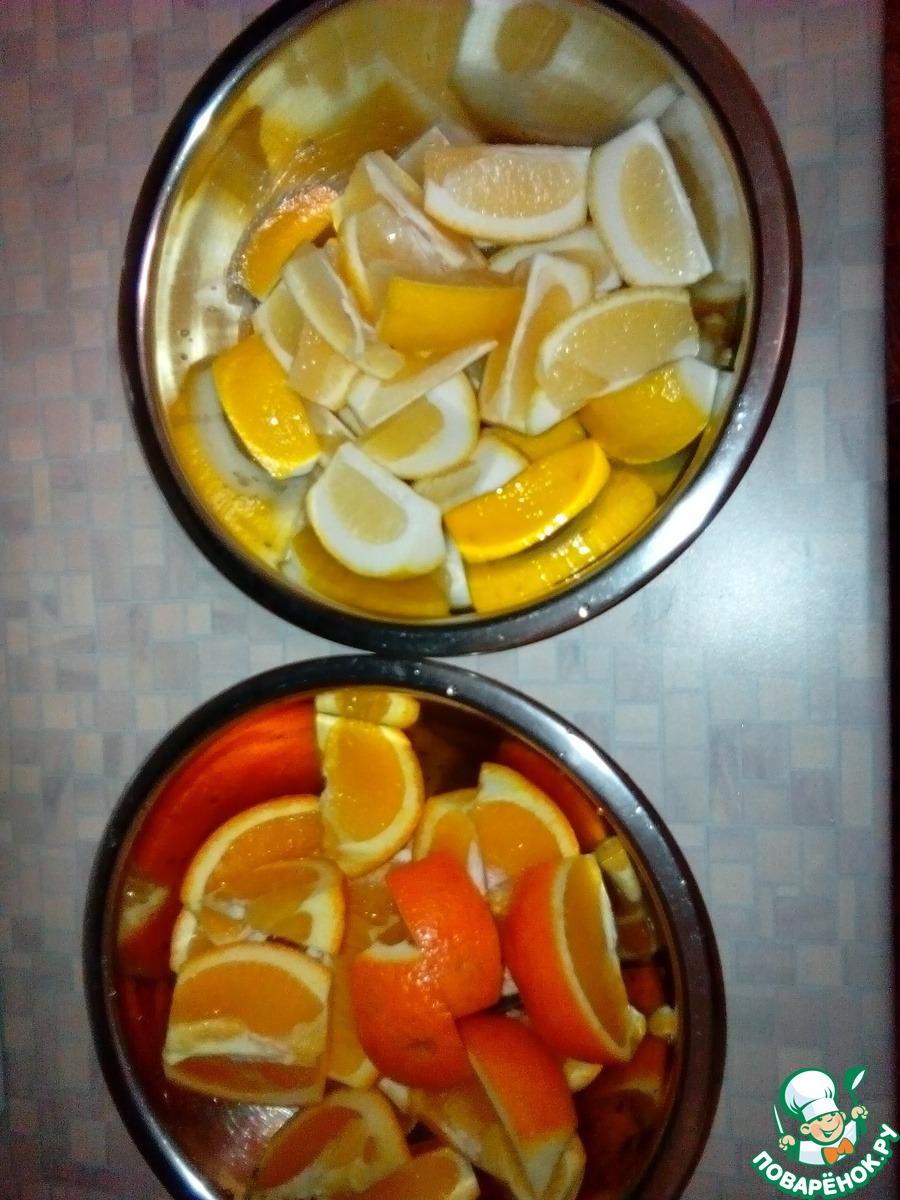 Пастила из апельсинов с лимоном