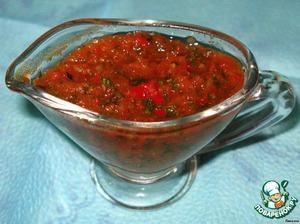 как приготовить кавказский соус к мясу