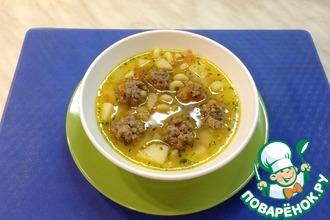 Рецепт: Суп с фрикадельками в мультиварке