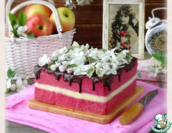 Рецепт: Торт Дивный сад