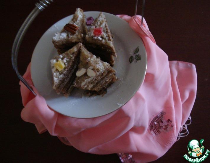 Рецепт: Хлебные пирожные
