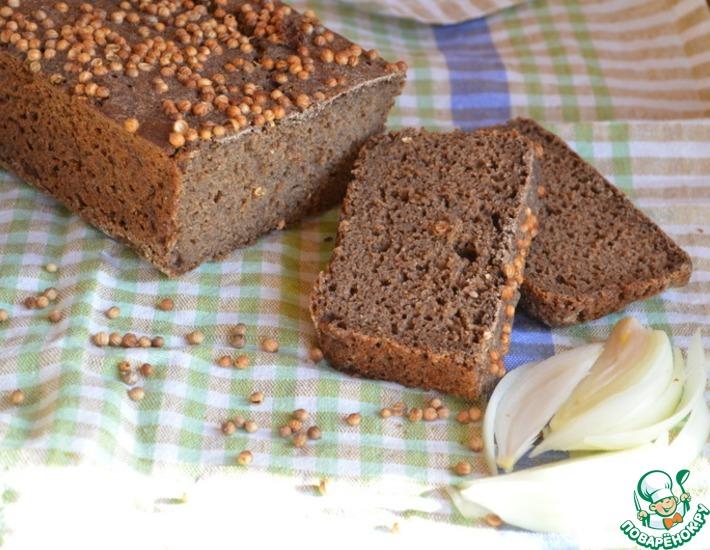 Рецепт: Бородинский хлеб на закваске по советскому ГОСТу