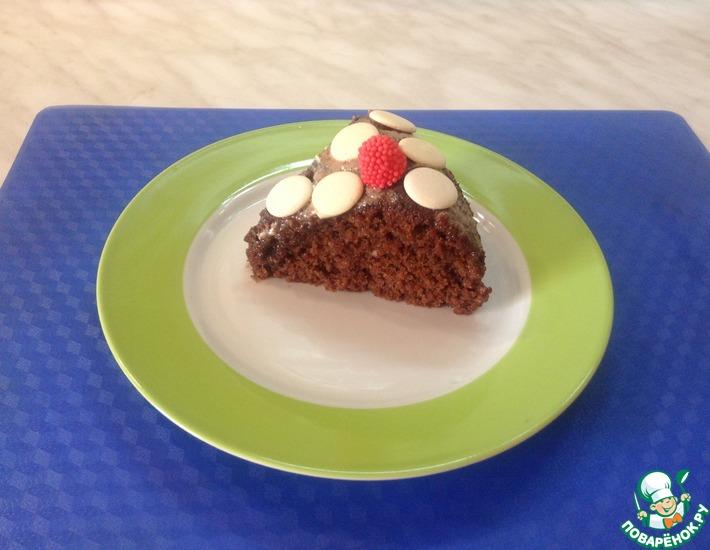 Рецепт: Торт Шоколадное кухэ