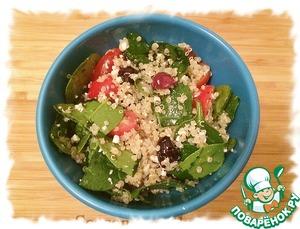 Салат можно использовать как закуску или как гарнир.
